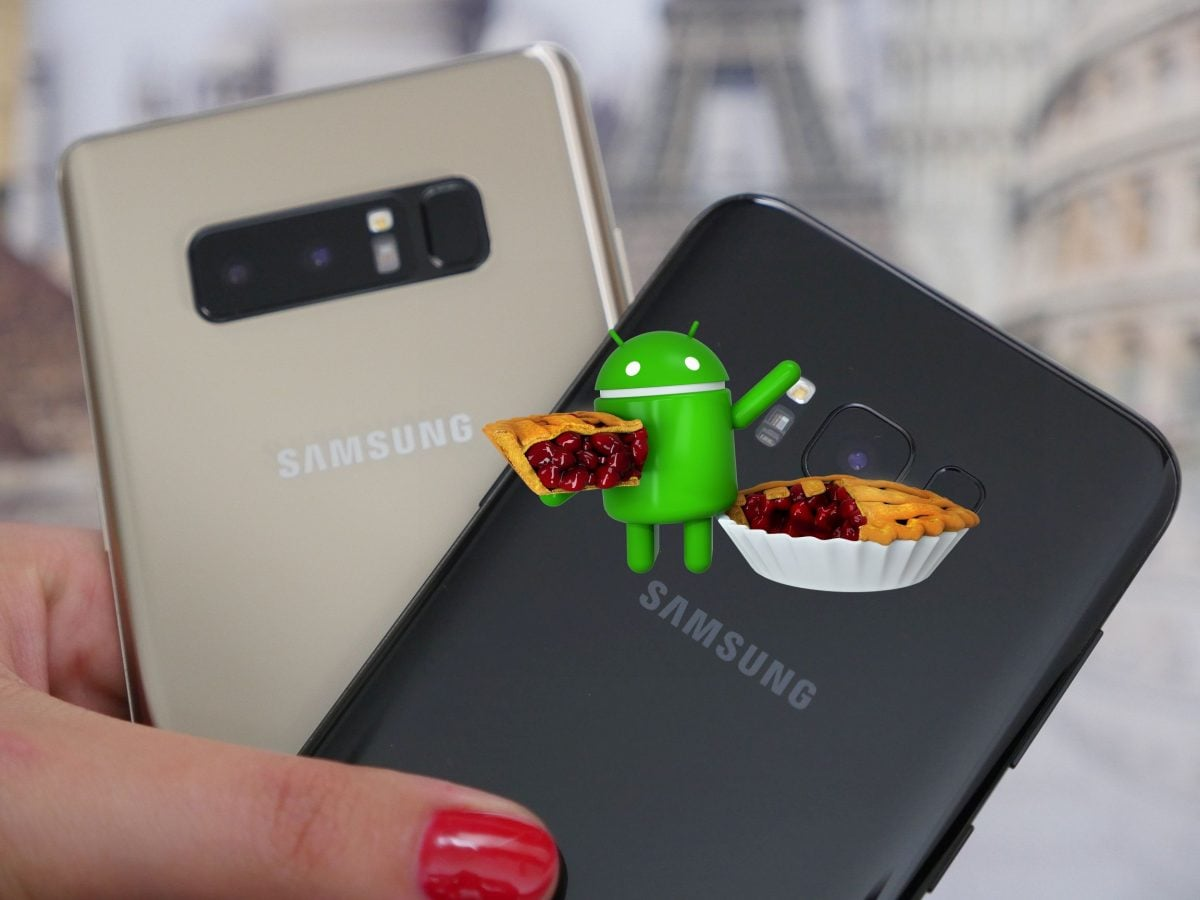 Which Samsung smartphones will receive an update to Android 9 0 Pie