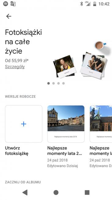Fotoksiążki od Google już dostępne w Polsce. Papierowy album ze zdjęciami za niecałe 56 zł 22
