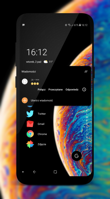 Tabletowo.pl Niagara Launcher, czyli ciekawa nowość w Google Play dla fanów prostoty i minimalizmu Android Aplikacje Ciekawostki Nowości