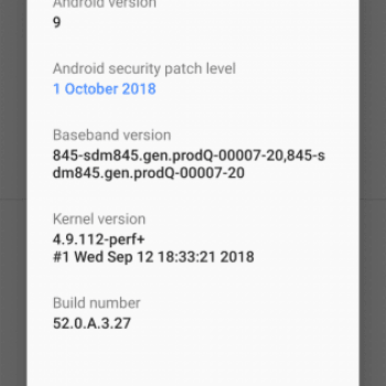 Tabletowo.pl Sony pozytywnie zaskakuje: Android Pie właśnie ląduje na Xperii XZ2 i XZ2 Compact Aktualizacje Android Sony