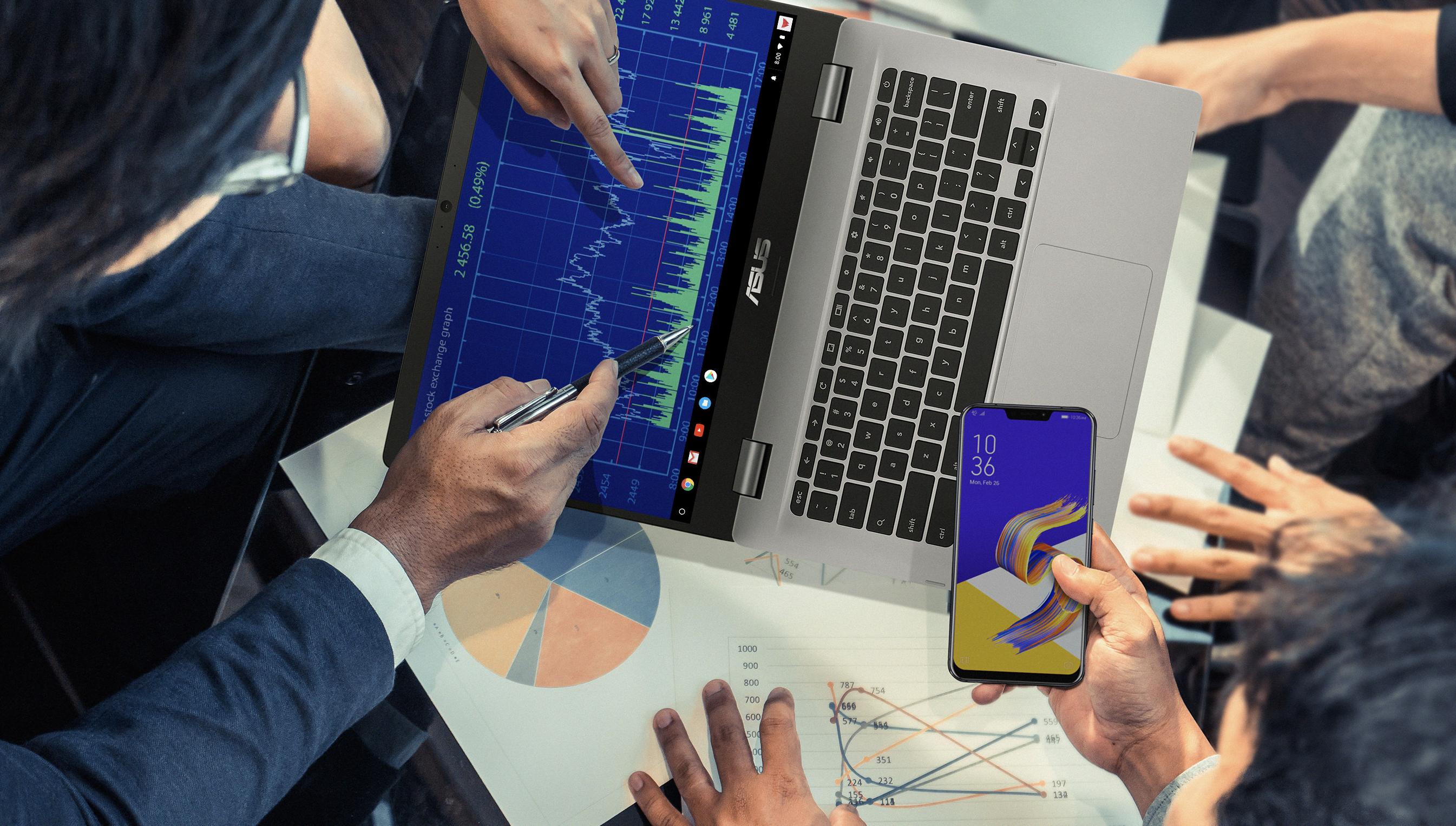Tabletowo.pl Asus po cichu wprowadził na rynek nowego, budżetowego Chromebooka Asus Nowości