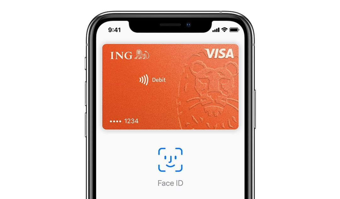 Ing Bank Slaski Apple Pay