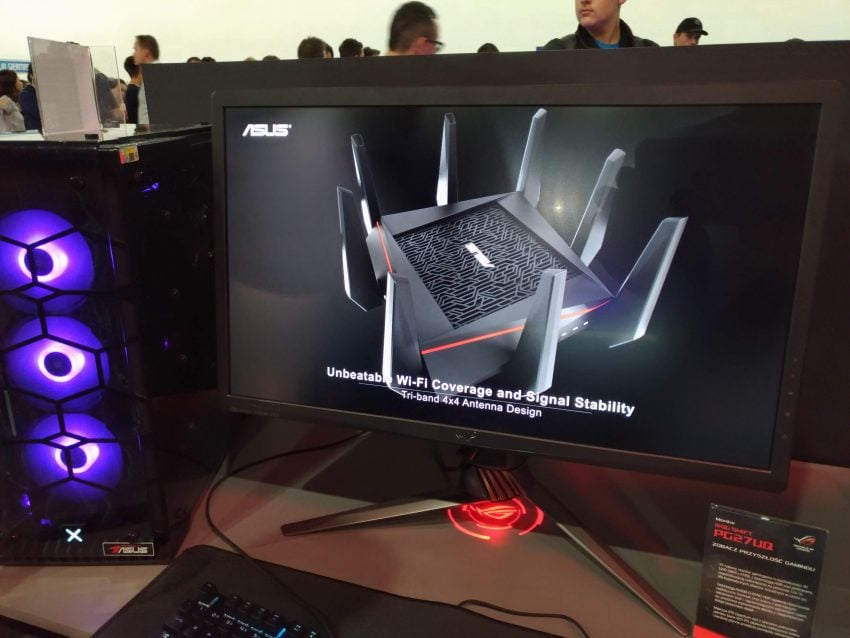 PGA 2018 - ASUS - monitor ASUS ROG Swift PG27UQ