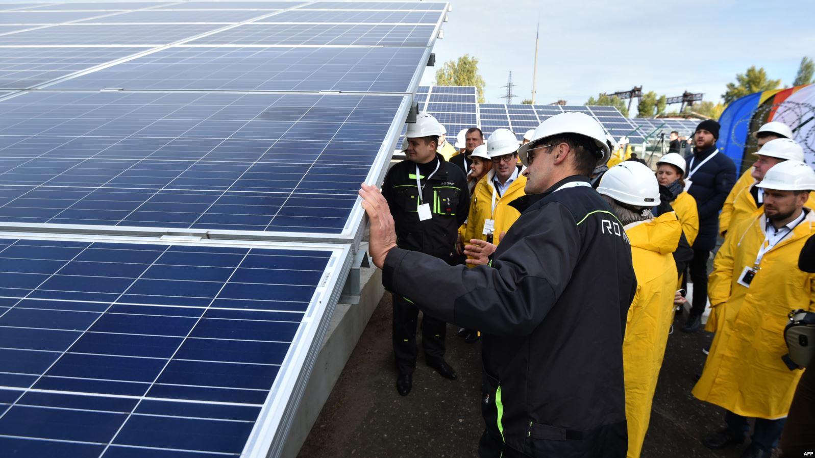 Tabletowo.pl Z Czarnobyla znów popłynie energia, ale nie jądrowa, tylko słoneczna Ciekawostki