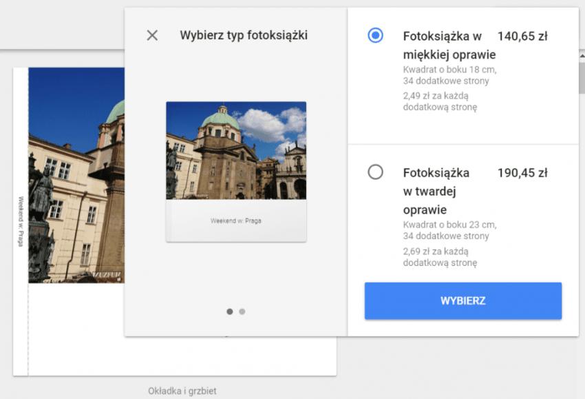 Fotoksiążki od Google już dostępne w Polsce. Papierowy album ze zdjęciami za niecałe 56 zł 25