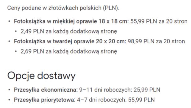Fotoksiążki od Google już dostępne w Polsce. Papierowy album ze zdjęciami za niecałe 56 zł 27