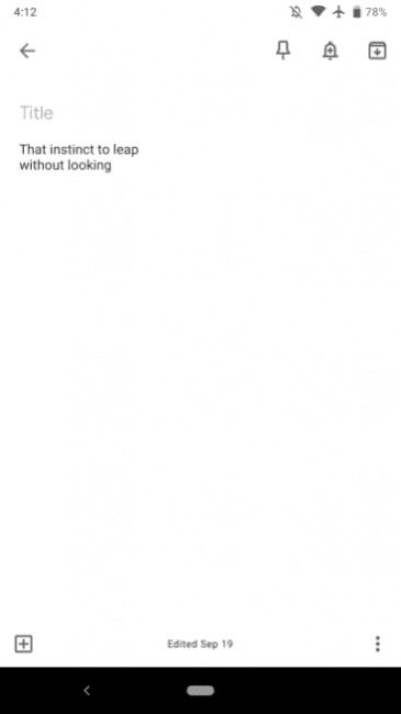 Tabletowo.pl Nadciąga zmiana wyglądu Google Keep na Androidzie - nowy Material Design pełną gębą Aktualizacje Aplikacje Google