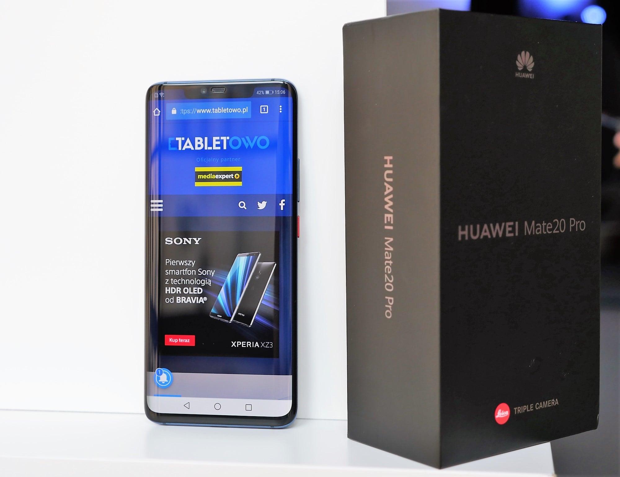 Huawei Mate 20 Pro - ultraszeroki kąt w aparacie, indukcyjne ładowanie, czytnik w (zakrzywionym) ekranie i wiele więcej. Pierwsze wrażenia 17