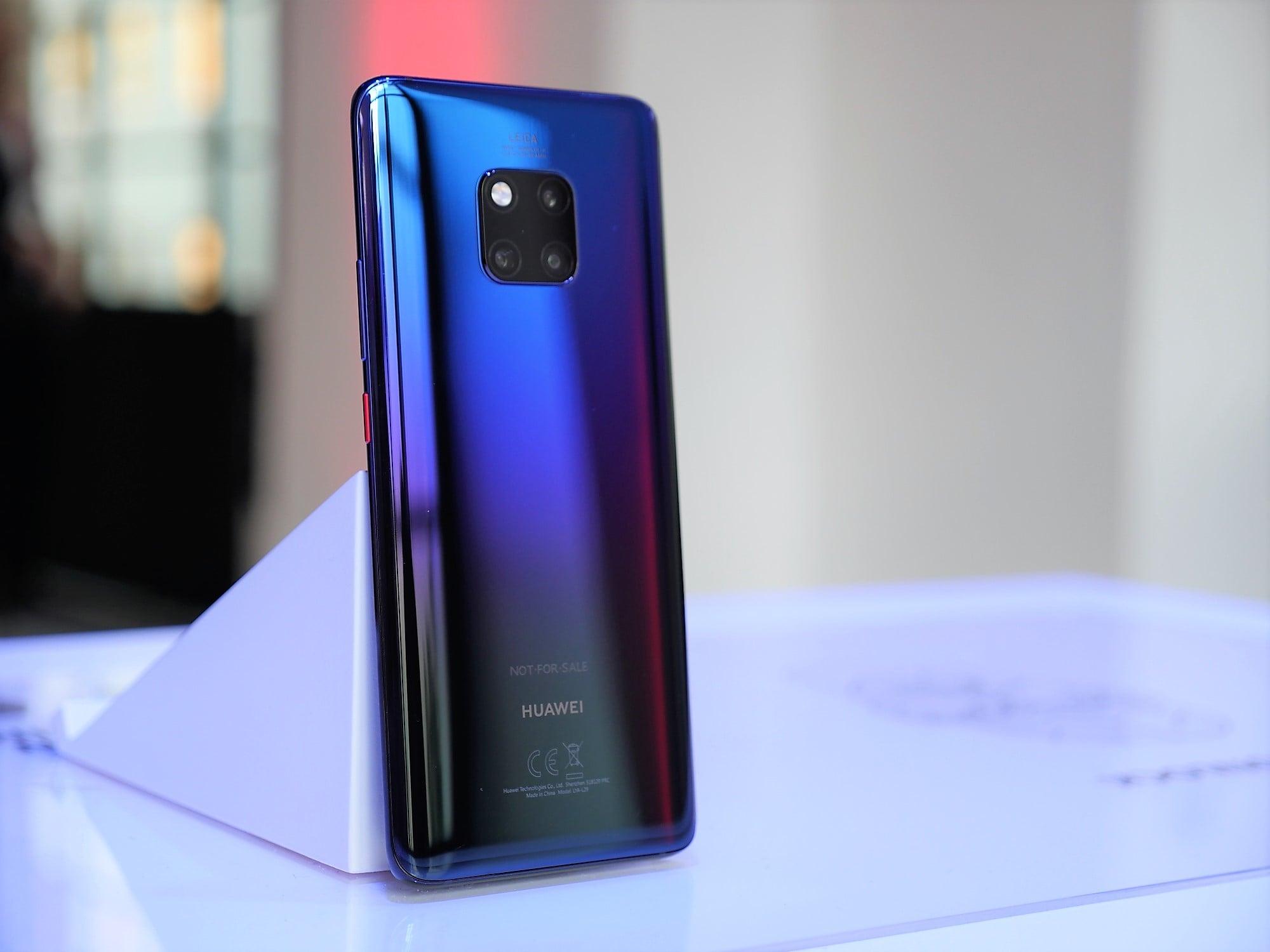 Huawei Mate 20 Pro - ultraszeroki kąt w aparacie, indukcyjne ładowanie, czytnik w (zakrzywionym) ekranie i wiele więcej. Pierwsze wrażenia 18