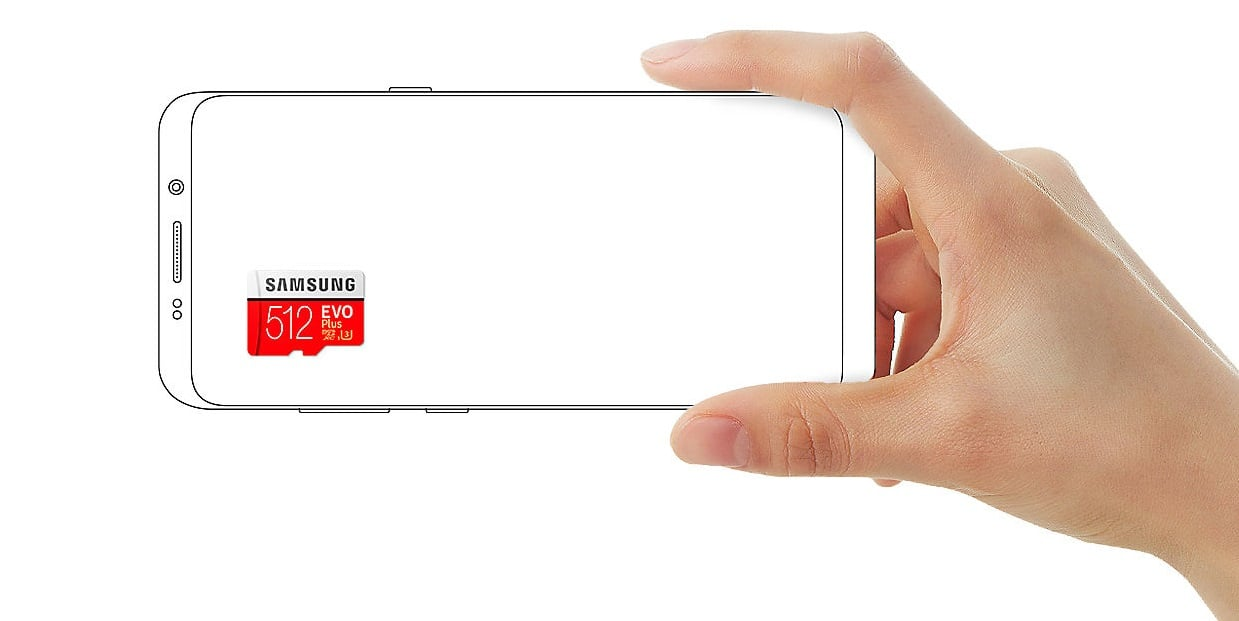 Tabletowo.pl Cena nowej karty microSD Samsunga zwala z nóg - 512 GB w cenie smartfona ze średniej półki Akcesoria Samsung