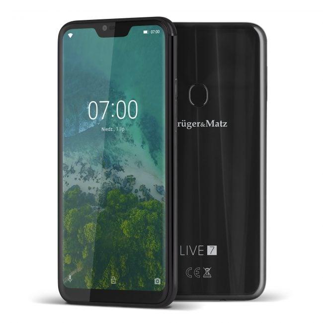 Tabletowo.pl Kruger&Matz też ma smartfony z notchem - Live 7 i Live 7S. Tylko... dlaczego z Mediatekiem? Android Kruger&Matz Smartfony
