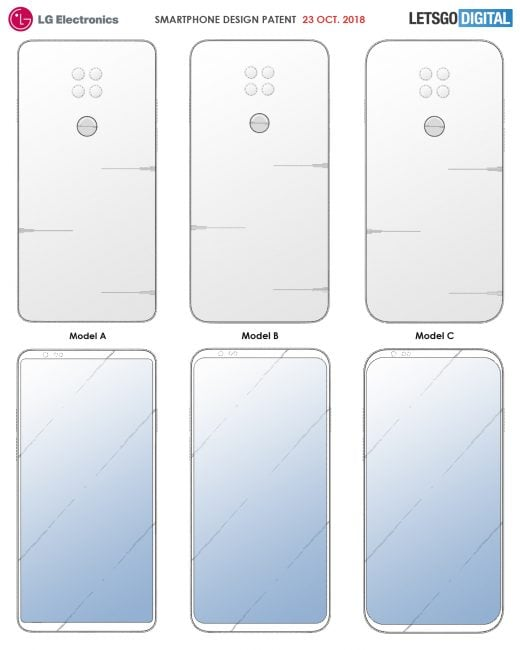 Tabletowo.pl LG może wyeliminować notche ze swoich smartfonów i pomnożyć liczbę aparatów. Sugeruje to nowy patent firmy Koncepcje LG Smartfony