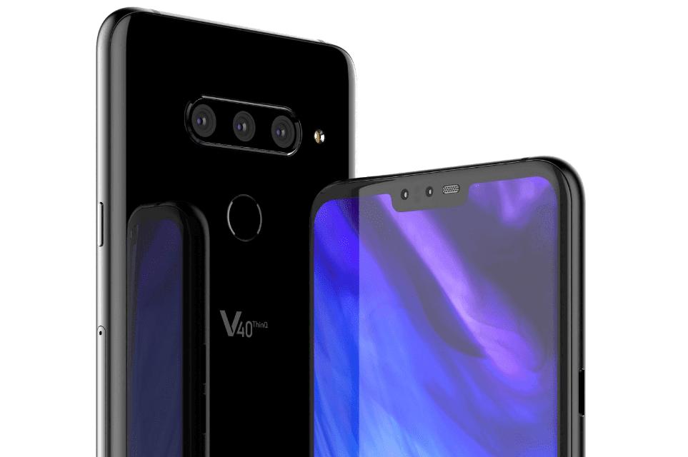 Tabletowo.pl LG V40 ThinQ nie ma jeszcze w sprzedaży, a już otrzymał drugą aktualizację aparatu Aktualizacje LG Oprogramowanie Smartfony
