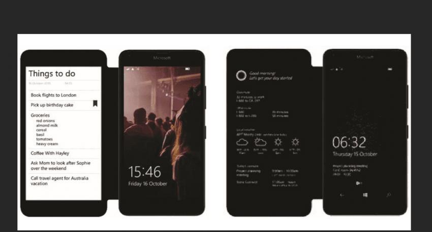 Tabletowo.pl Microsoft planuje/planował smartfon z dodatkowym wyświetlaczem E-Ink? Ciekawostki Microsoft Smartfony Technologie Windows