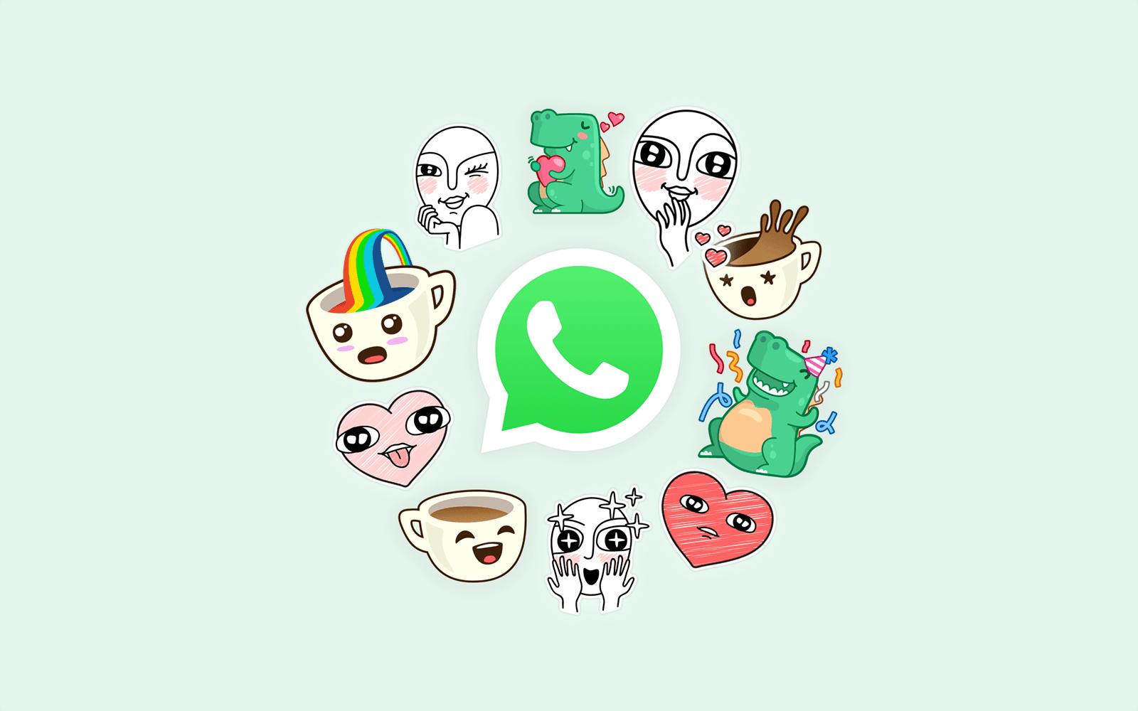 Dziwne, ale WhatsApp rzeczywiście nie miał dotąd tej funkcji - komunikator w końcu obsługuje naklejki 25