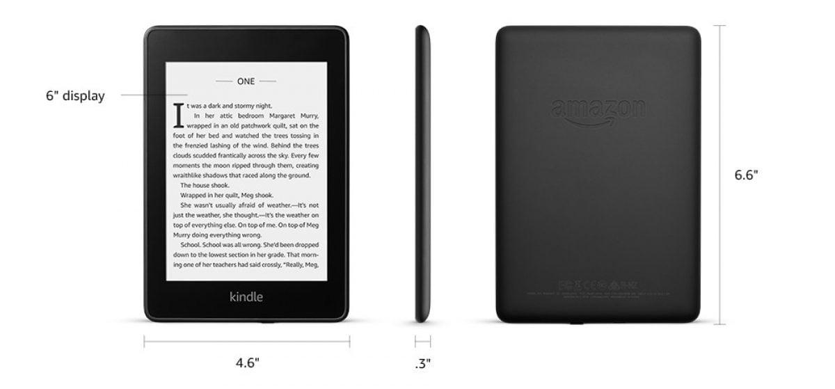 Tabletowo.pl Amazon prezentuje nowy, wodoodporny czytnik ebooków, Kindle Paperwhite 4 Amazon Nowości