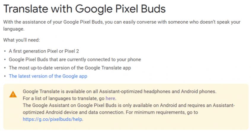 Tabletowo.pl Google Pixel Buds nareszcie rozszerzają swoje możliwości tłumaczenia języków. Nieznacznie, ale zawsze to coś Akcesoria Aktualizacje Audio Google Sprzęt
