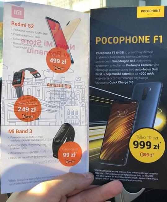 Tabletowo.pl Świetna promocja na Pocophone F1. Będzie można go kupić już za 999 złotych Android Promocje Smartfony Xiaomi