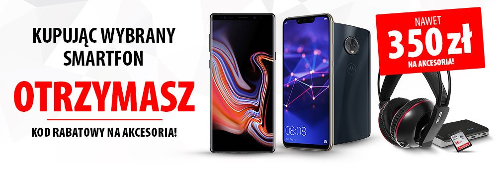 Tabletowo.pl Promocja: do wybranych smartfonów kod rabatowy do 350 złotych do wykorzystania na akcesoria Akcesoria Android Promocje Smartfony