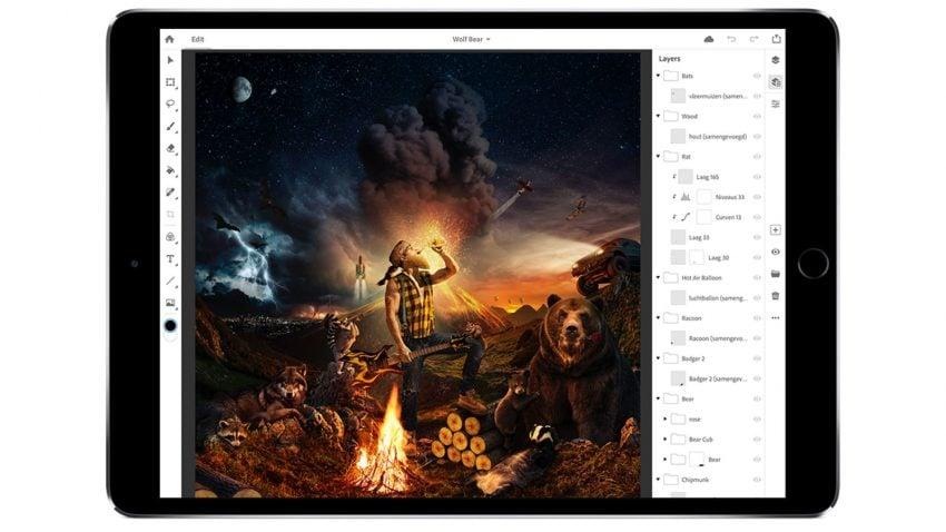 Tabletowo.pl Doczekaliśmy się: iPad wkrótce dostanie pełną wersję Adobe Photoshop Aplikacje iOS Zapowiedzi