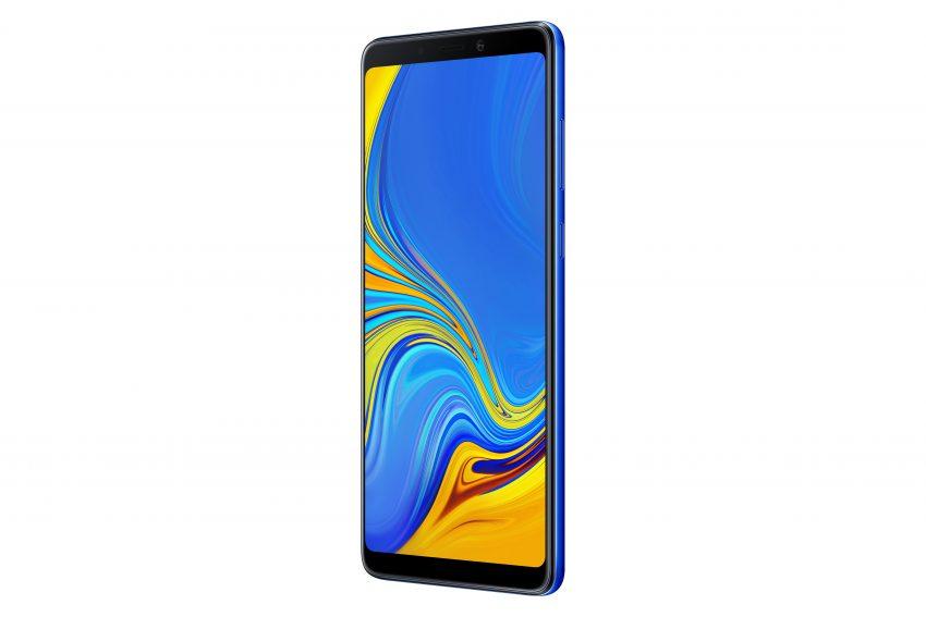 Tabletowo.pl Wyścig na liczbę aparatów w smartfonie trwa. Prowadzi Samsung - zaprezentował Galaxy A9 z czterema obiektywami Nowości Samsung Smartfony