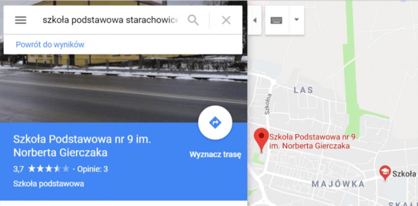 Tabletowo.pl Ktoś zmienia nazwy polskich szkół w Mapach Google. Sprawdź, bo możesz chodzić do Liceum im. Tomasza Karolaka Aplikacje Google Wydarzenia