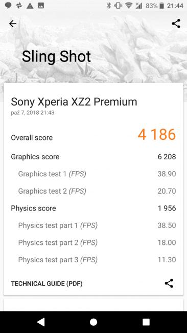 Recenzja Sony Xperia XZ2 Premium. Test superflagowca zamkniętego w tradycyjną obudowę 45