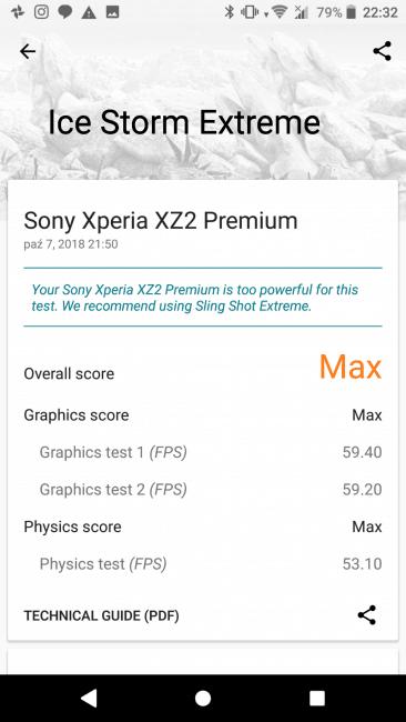 Recenzja Sony Xperia XZ2 Premium. Test superflagowca zamkniętego w tradycyjną obudowę 46