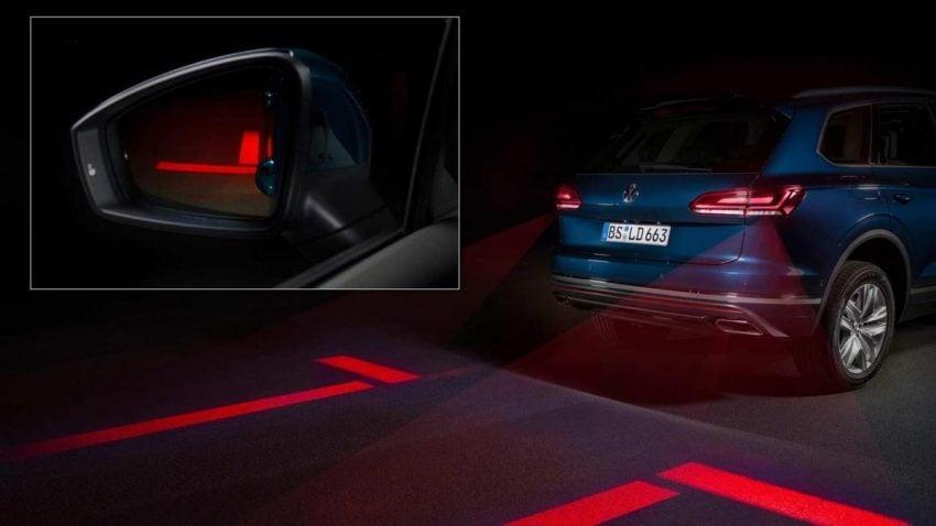 Tabletowo.pl Volkswagen pracuje nad inteligentnymi światłami samochodowymi, które mają być swego rodzaju projektorami Moto