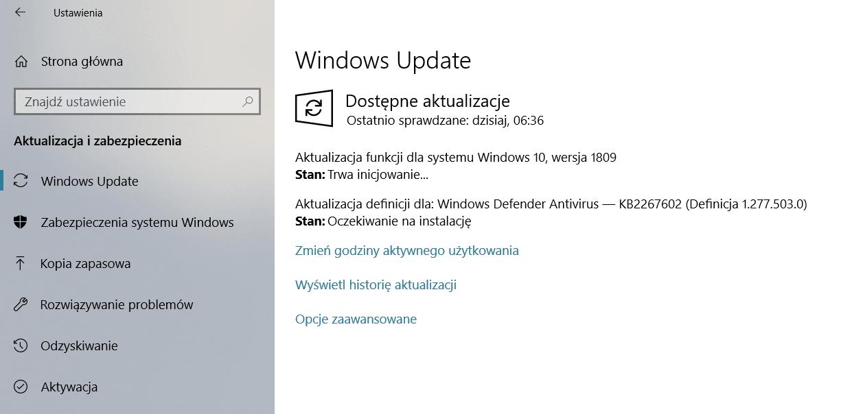 Tabletowo.pl Aktualizacja Windows 10 October Update może powodować utratę kluczowych danych? Nowości