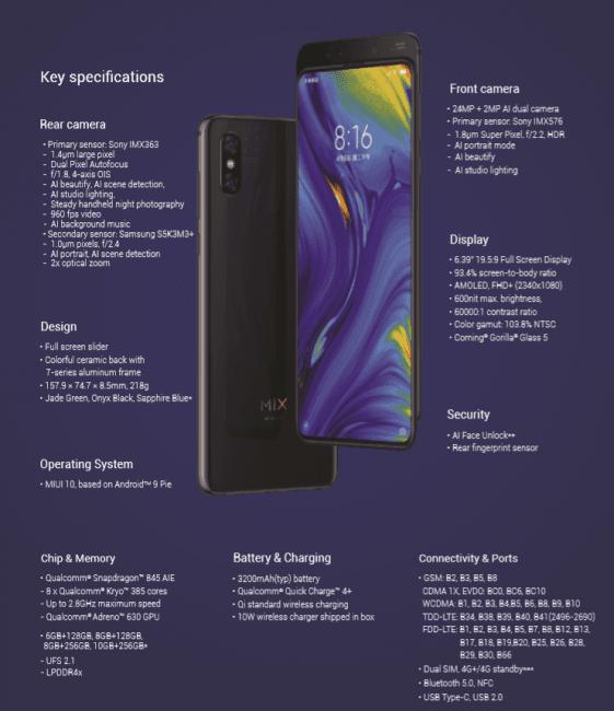 Mieliśmy w rękach Xiaomi Mi MIX 3 - robi bardzo pozytywne pierwsze wrażenie 22
