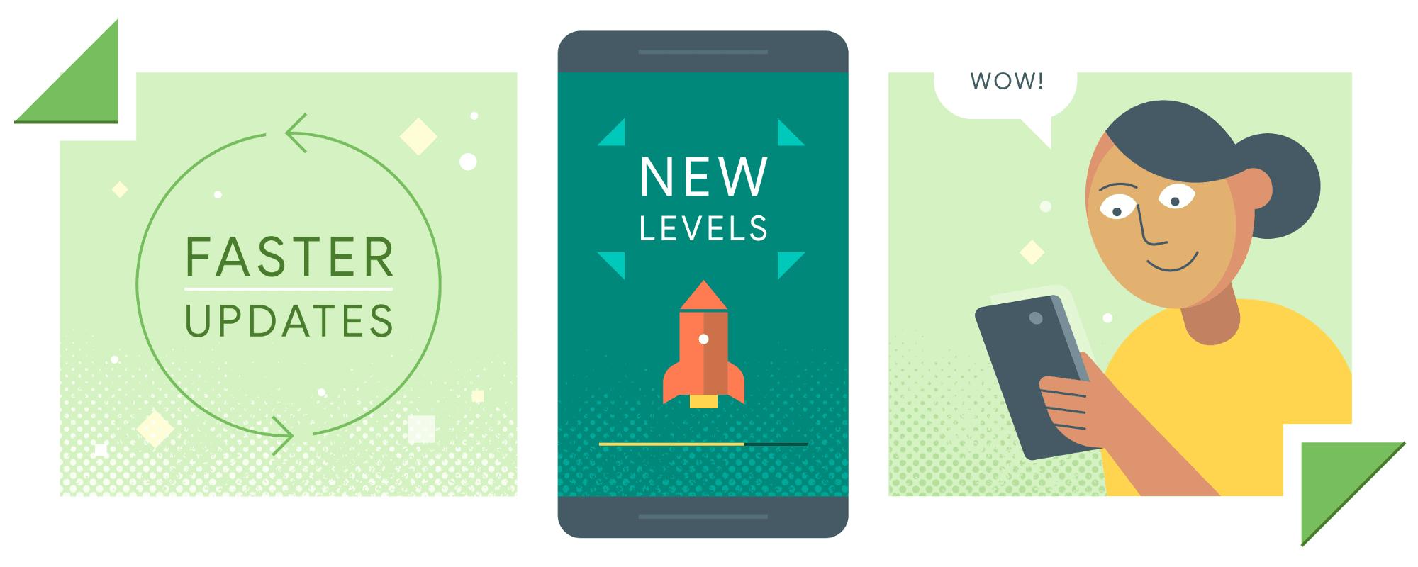 Tabletowo.pl Aktualizowanie aplikacji w tle? Niedługo w Sklepie Play powinno być to możliwe Aplikacje Oprogramowanie