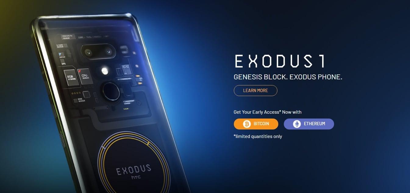 Bitcoin traci na wartości, więc HTC podnosi cenę smartfona Exodus 1, którego można kupić tylko za kryptowaluty 19