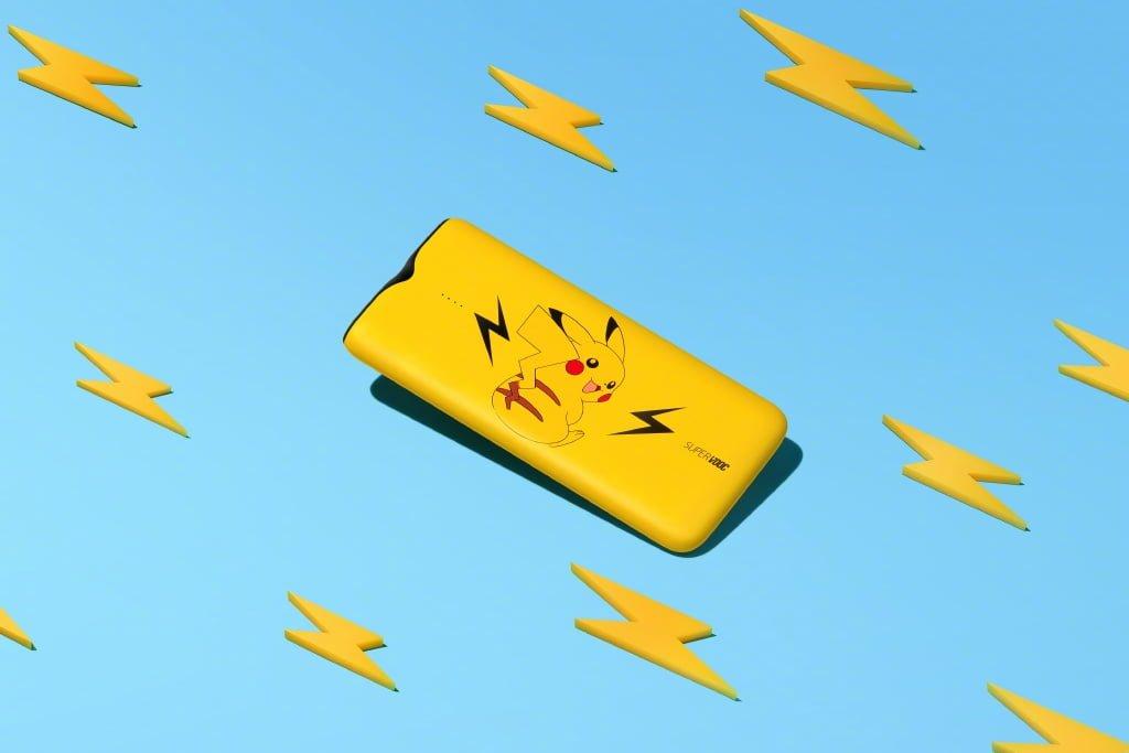 Pikachu nie znalazł się tu przypadkowo - żaden powerbank nie wspiera tak szybkiego ładowania, jak ten 20