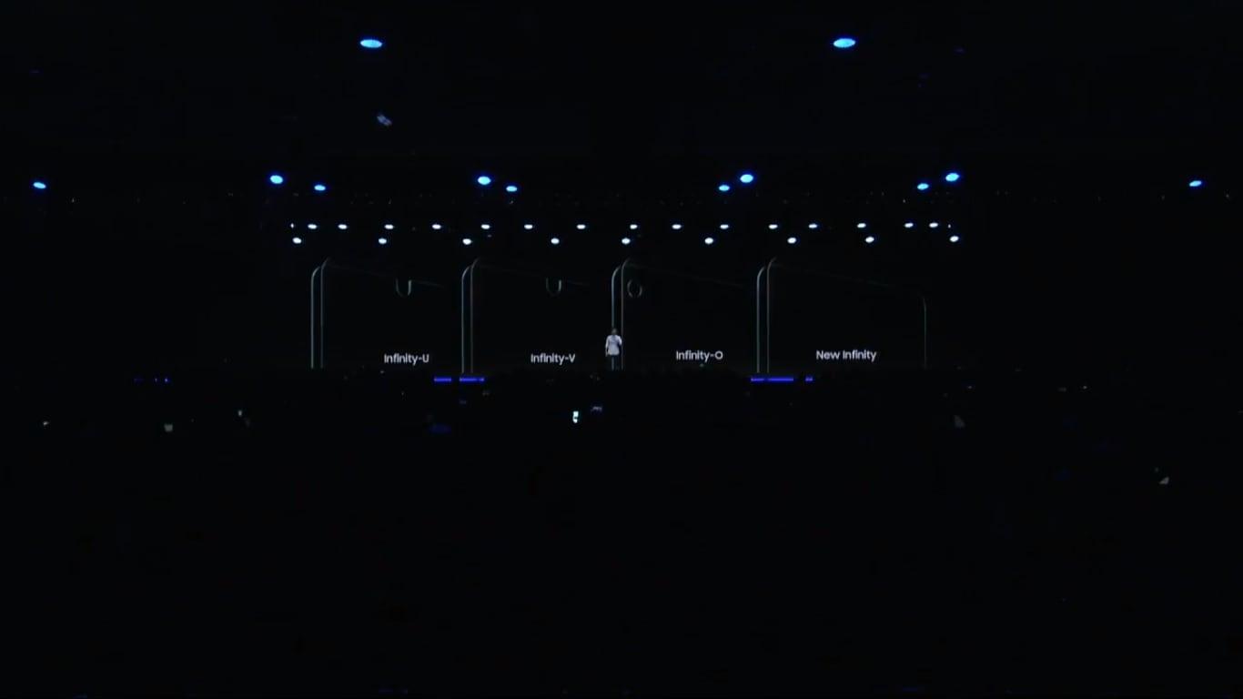 Samsung wytnie dziurę w ekranie Galaxy S10, aby umieścić w niej kamerkę. A czytnik linii papilarnych przerzuci na bok 15