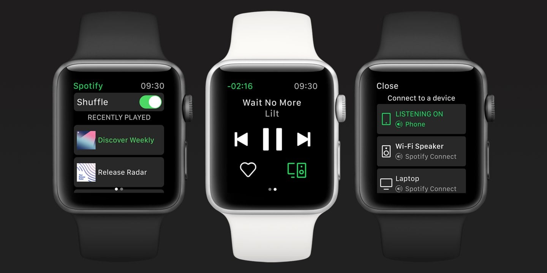 To dobry dzień dla właścicieli Apple Watcha - mogą pobrać pełnoprawną aplikację Spotify na swoje zegarki 20