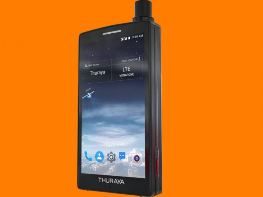 Poręczny telefon satelitarny z Androidem? Oczywiście, że można: oto Thuraya X5-Touch 15