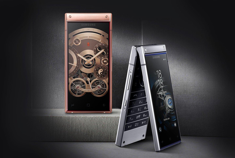 """""""Mocarz z klapką"""", czyli premiera Samsunga W2019, wyposażonego w dwa wyświetlacze 20"""