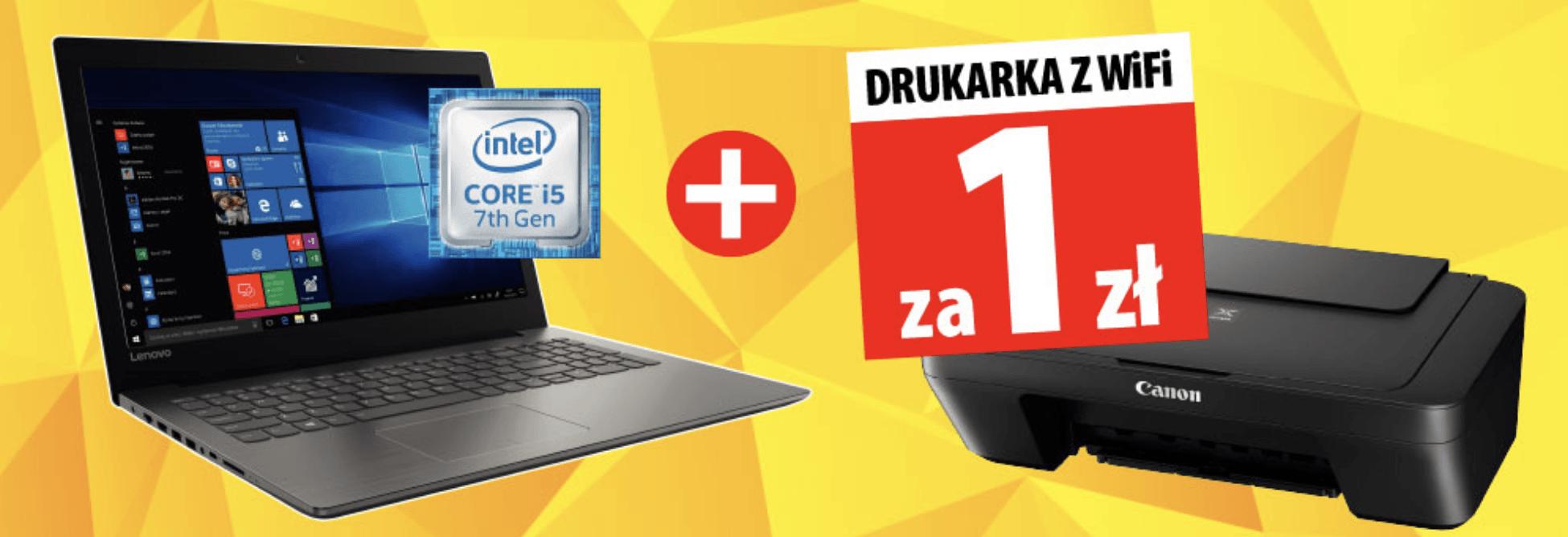 Promocja: kup laptop, weź od razu drukarkę z WiFi za złotówkę 28