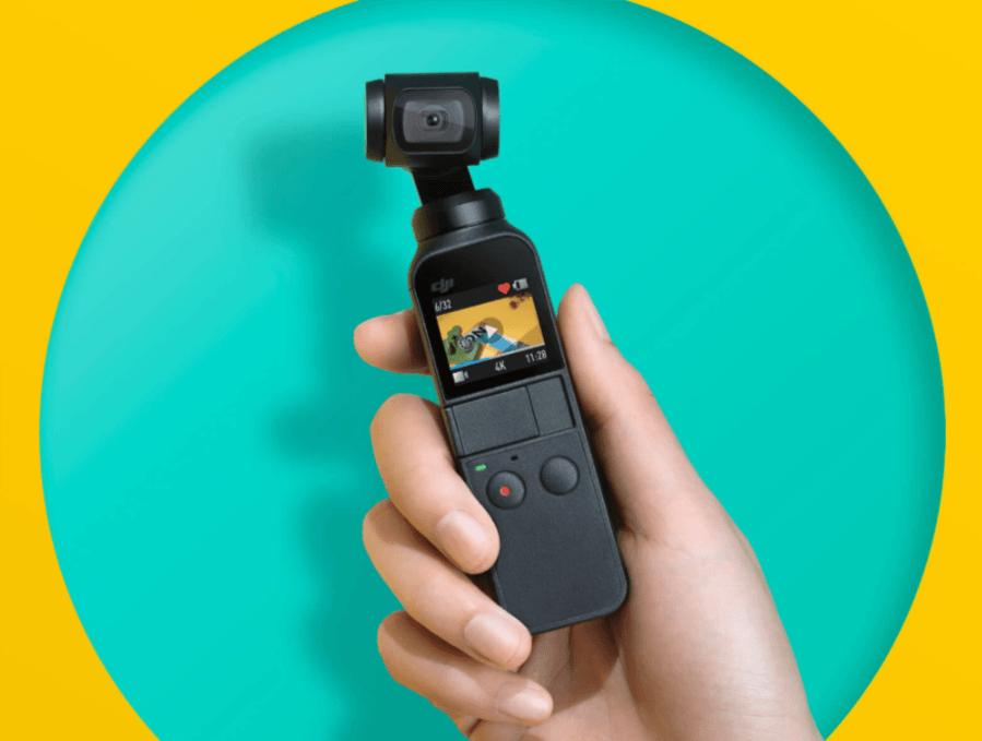 Tabletowo.pl Osmo Pocket to najmniejszy gimbal od DJI, a i tak potrafi nagrywać wideo w 4K Akcesoria