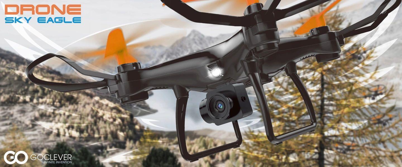 Tabletowo.pl Jeśli pogoda dopisze, to będziecie mogli sobie jeszcze polatać nowymi, tanimi dronami marki GOCLEVER GOCLEVER Nowości
