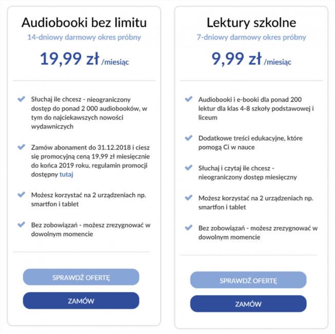 Tabletowo.pl Nowa oferta abonamentu na audiobooki w Empiku. Za 19,99 zł miesięcznie zyskujemy dostęp do ponad 2000 publikacji Książki Kultura Promocje