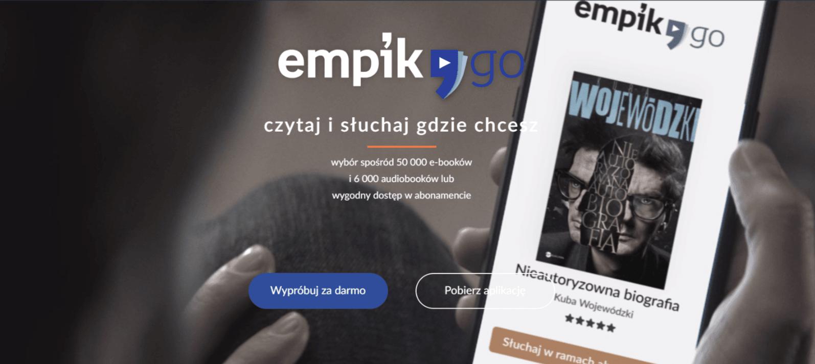Nowa oferta abonamentu na audiobooki w Empiku. Za 19,99 zł miesięcznie zyskujemy dostęp do ponad 2000 publikacji 24