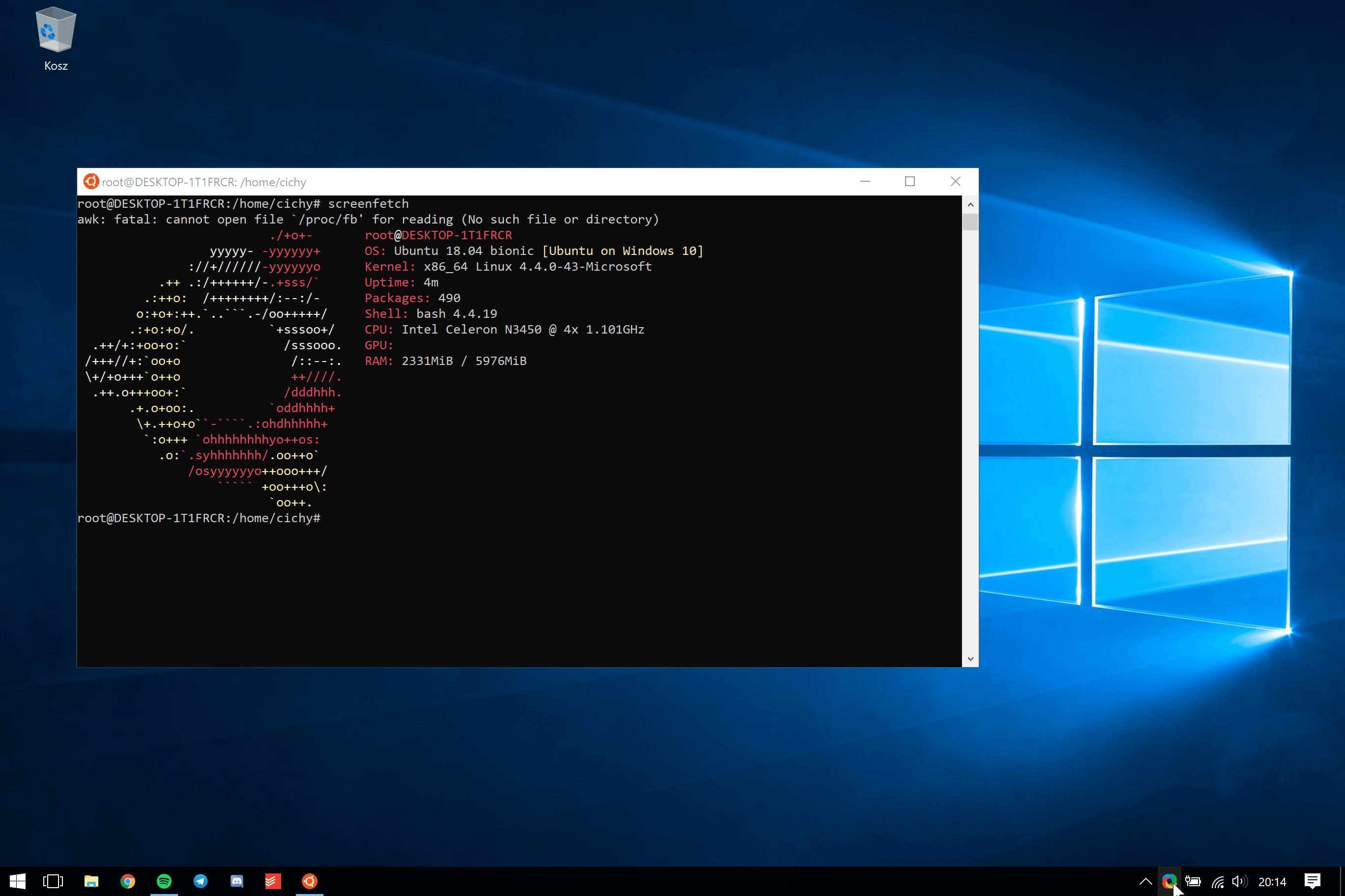 Microsoft dodał nowe funkcje do usługi Windows Subsystem for Linux 18