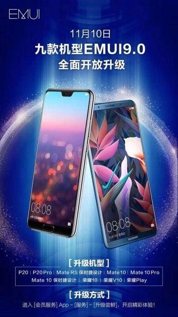 Wreszcie wiadomo coś na temat aktualizacji Huawei Mate 10 Pro i P20 Pro do Androida 9.0 Pie 18