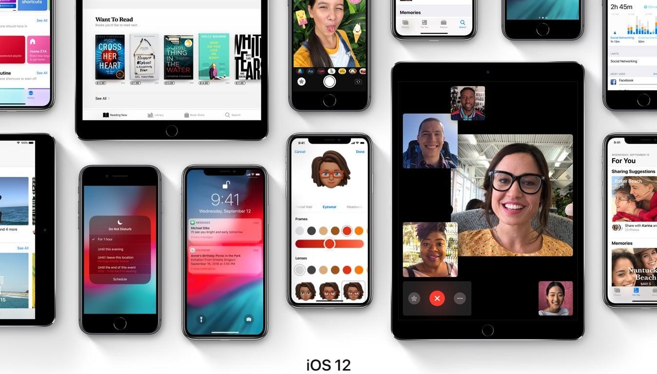 iOS 12 zainstalowany jest już na 75% wszystkich sprzętów Apple z iOS 23