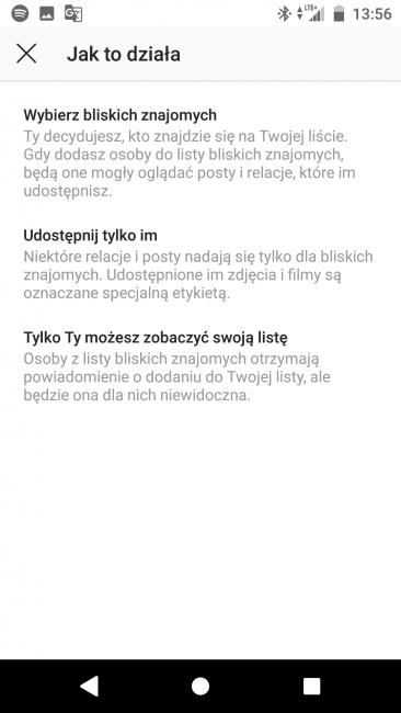 Tabletowo.pl Stories tylko dla bliskich znajomych oficjalnie w Instagramie. Mieliście już to wcześniej? Aktualizacje Aplikacje Social Media