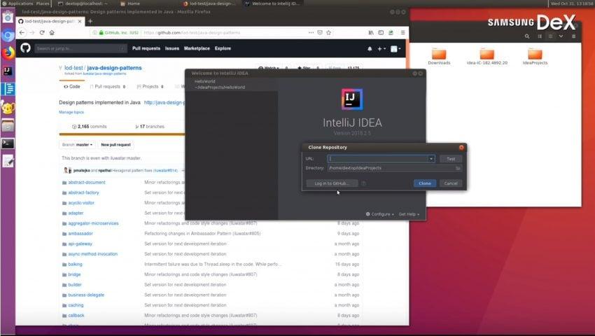 """""""Linux on Galaxy"""" od teraz nazywa się """"Linux on DeX"""" i jest już w fazie beta 21"""