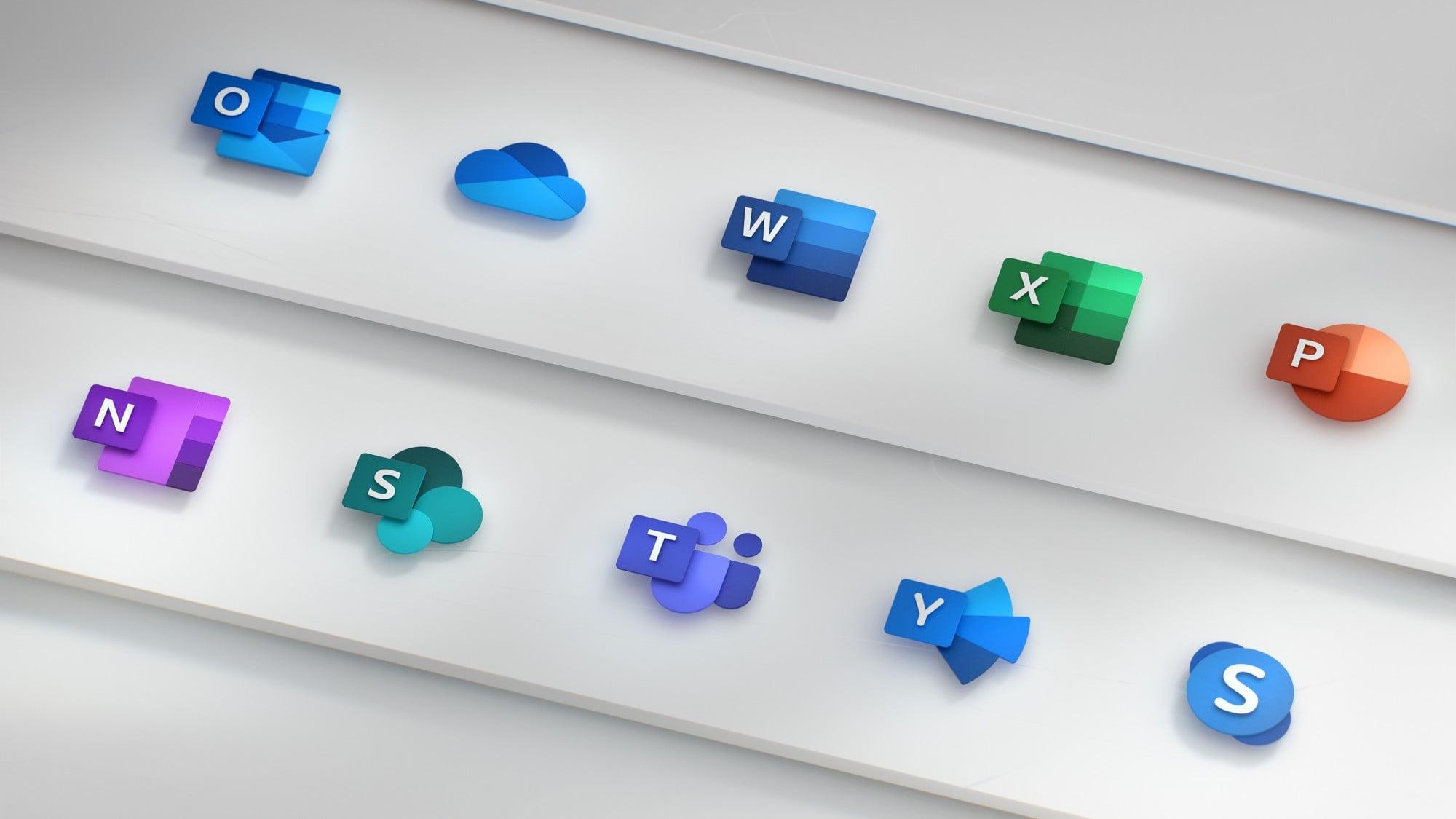 Tabletowo.pl Microsoft jest tak zakochany w nowych ikonach pakietu Office, że aż zrobił o nich film Aplikacje Microsoft Nowości