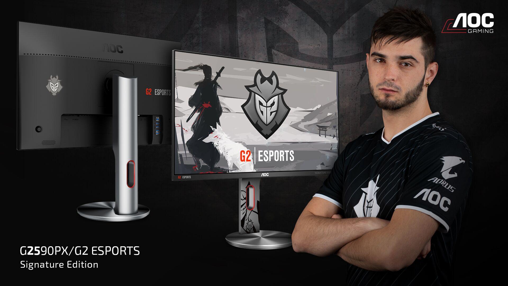 Gracze powinni być zadowoleni - monitor AOC G2590PX/G2 w wersji G2 Esports jest właśnie dla nich 17